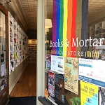 Books & Mortar rainbow flag