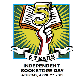 Independent Bookstore Day 2019 logo