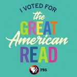 "The Great American Read ""I Voted"" Button"