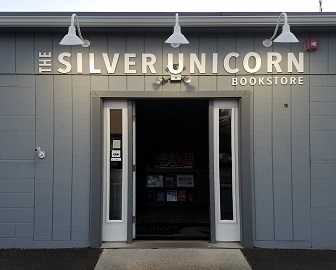 The Silver Unicorn's storefront.