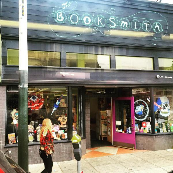 The Booksmith's storefront