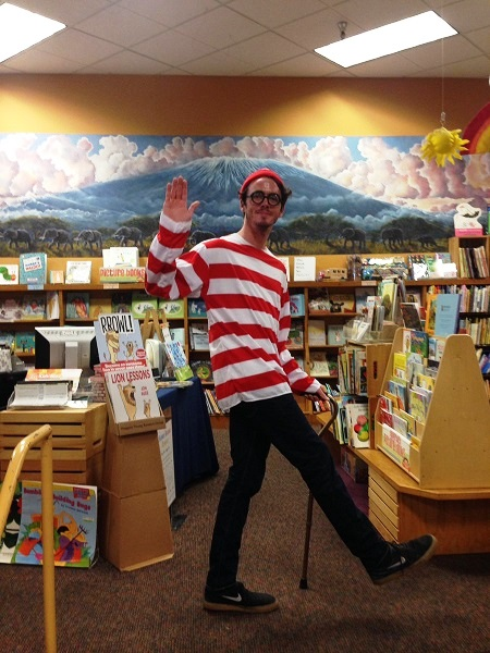 Waldo appears at Changing Hands Bookstore.