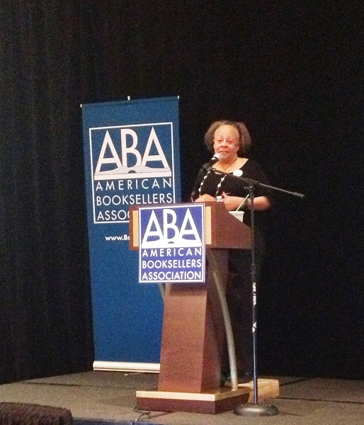 Jewell Parker Rhodes closes out Children's Institute with a stunning speech on diversity.