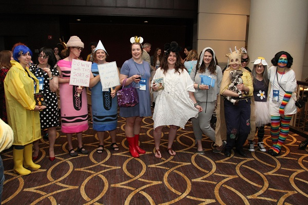 The winners of the first-ever Ci6 costume contest.