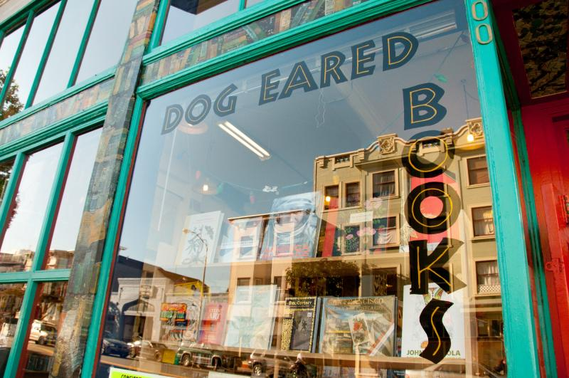 Dog Eared Books' storefront