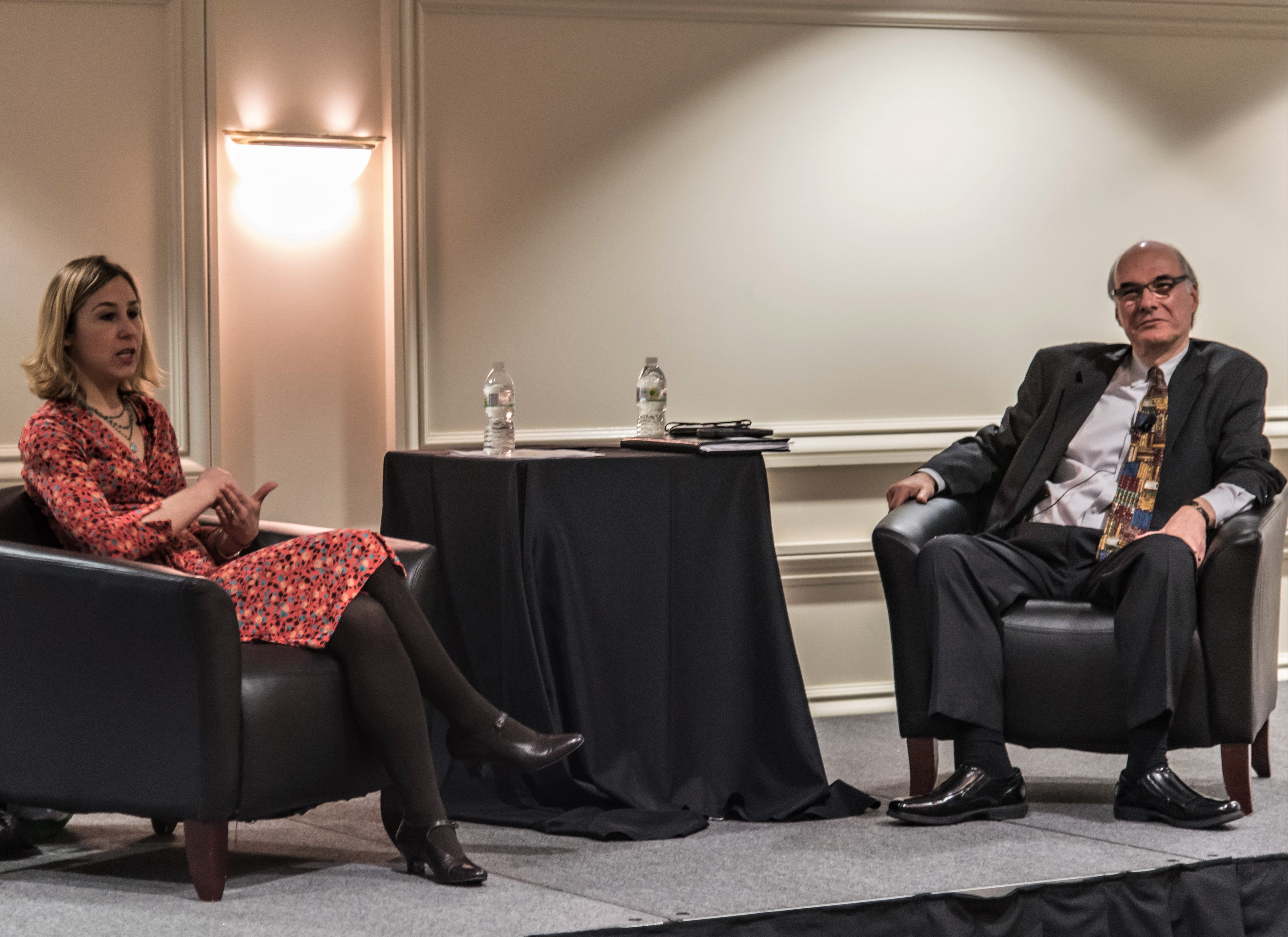 Pamela Paul of the New York Times talked books with ABA CEO Oren Teicher.