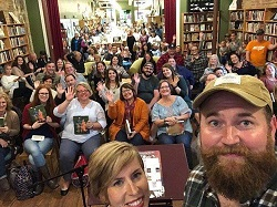 A full house at Scuppernong Books for an event.