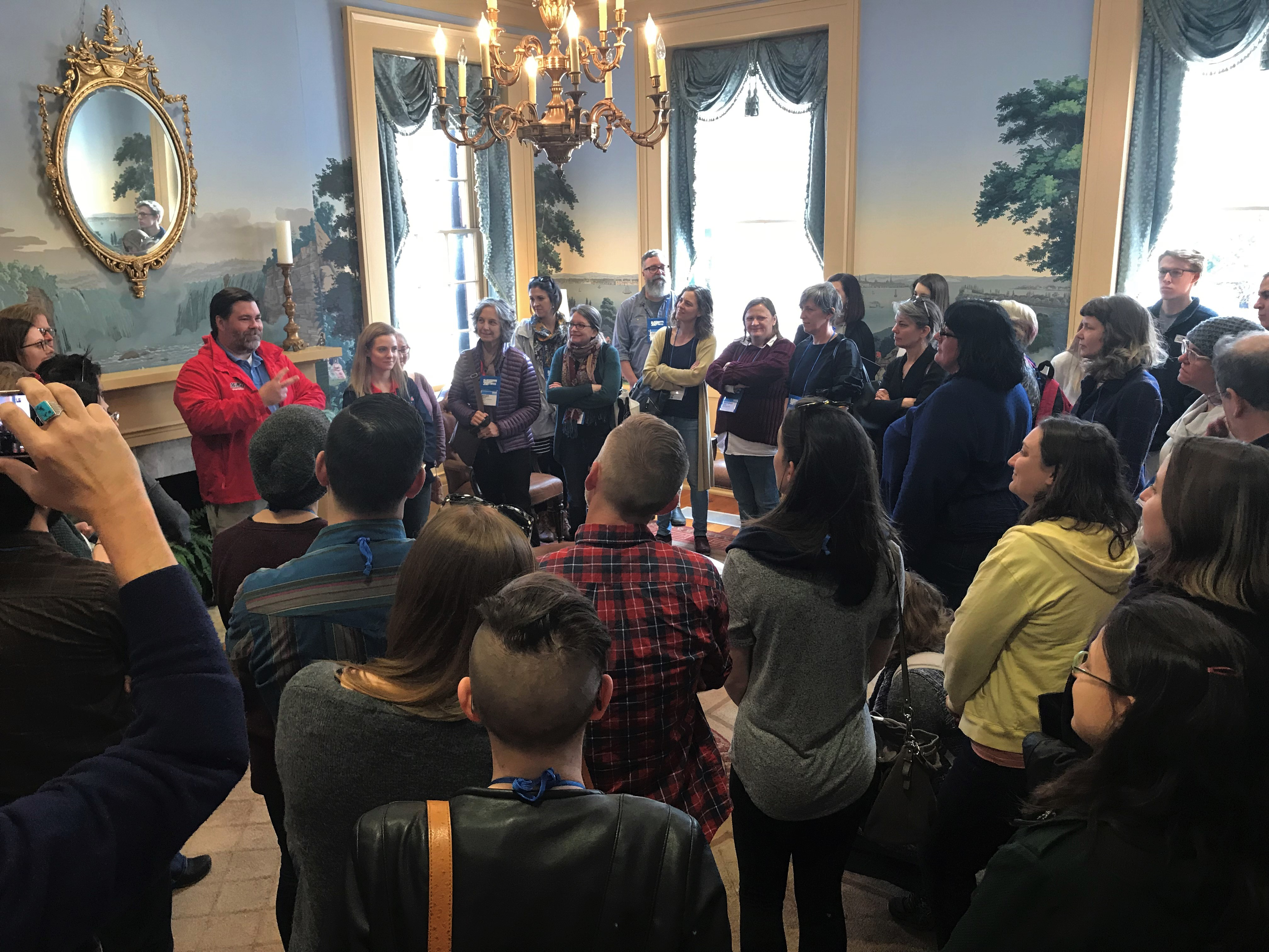 Booksellers toured Ole Miss on a jaunt to Oxford, Mississippi, Monday.