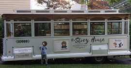The Story House bookmobile