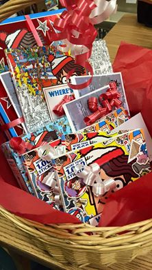 Vero Beach Book Center gave away Waldo Books as prizes.