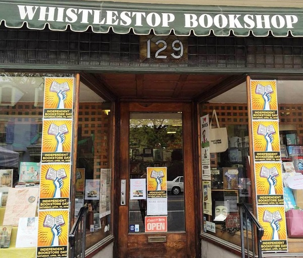 Whistlestop Bookshop catches the eye of Carlisle, Pennsylvania, residents with IBD posters.