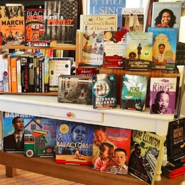 Afterwords black history display