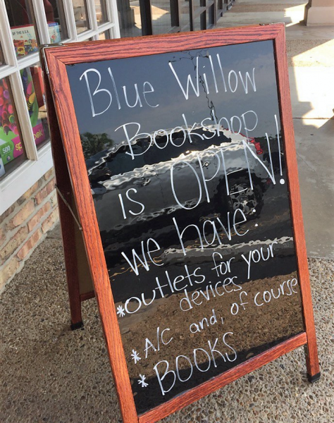 Blue Willow was an oasis after Hurricane Harvey hit Houston.