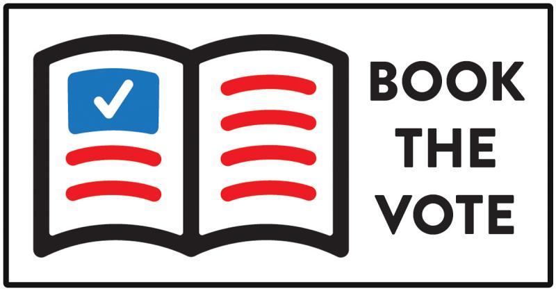 Book the Vote logo