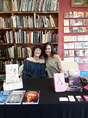 Local authors Nyasia A. Marie and Sandra Ann Miller meet and greet readers at Sandpiper Books in Torrance, California.