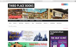 Home page of Third Place Books web site