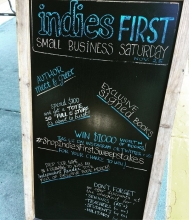 The Bookloft in Great Barrington had a full day of events.
