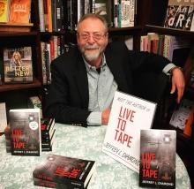 Author Jeffrey L. Diamond visits The Bookloft in Great Barrington.