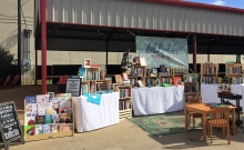 Bibliobar creates a pop-up on Indies First before a spring opening in Garland, Texas.