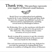 Neighborhood Reads supports a small press that had a devastating fire.