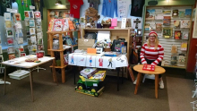 Beagle and Wolf Books & Bindery gets ready to celebrate the finale of Find Waldo Local.