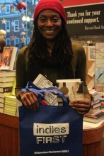Kim McLarin at Harvard Book Store.