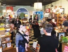 Page 158 Books in Wake Forest, North Carolina, is packed on Independent Bookstore Day.