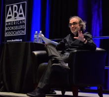 Bestselling author Gary Shteyngart delivered the closing keynote on Thursday.