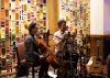 The Bookshop Band plays in the Hotel Andaluz.